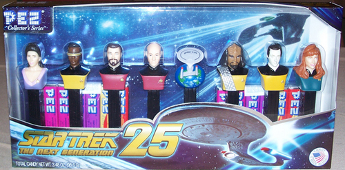 Star Trek TNG Pez Gift Set
