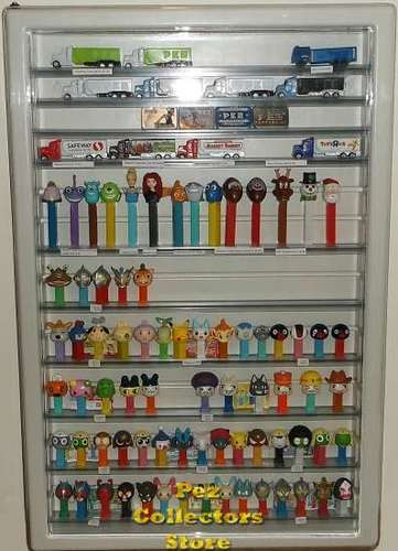 Open Pez Wall Display
