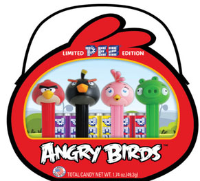 Angry Birds Pez Tin Back