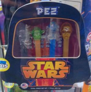 Crystal Star Wars Pez Tin