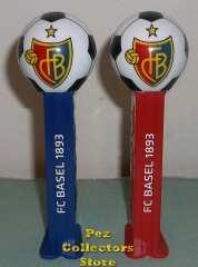 FC Basel soccer pez mint on card