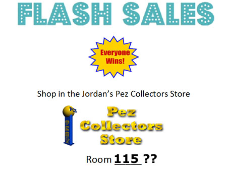 Pez Collectors Store Flash Sales