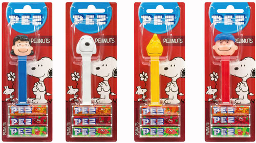 2015 European Peanuts Pez Set