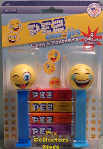 Emoji Pez Double Card