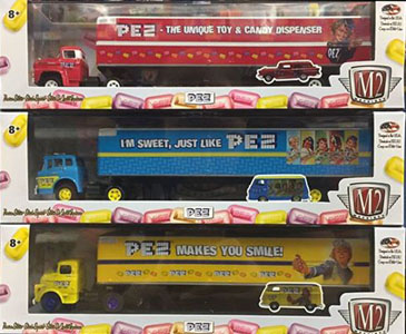 M2 Machines Pez Haulers