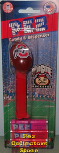 Ohio State Solid logo Football Pez