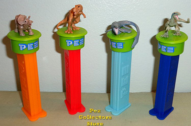 Jurassic World Click and Play Pez