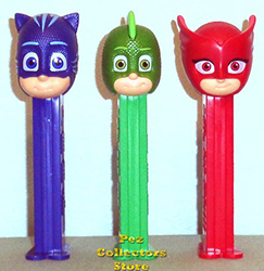 European PJ Masks Pez Loose