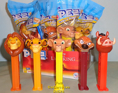 2019 Lion King Pez Set MIB
