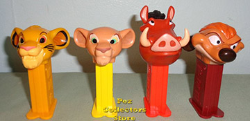 Lion King Mini Pez Loose