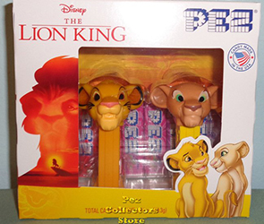 Lion King Simba and Nala Mini Pez Twin Pack