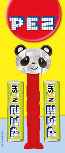 Crystal Panda for International Pez Conventions