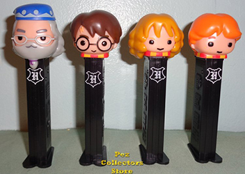 Harry Potter Pez Set with Exclusive Dumbledore Loose
