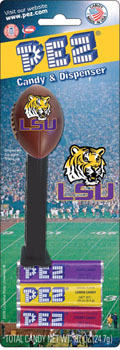 Louisiana State University Football Pez