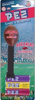 Arkansas Razorbacks Football Pez