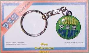 I Collect Pez Keychain