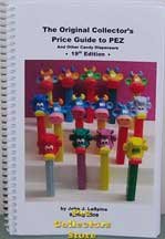 John LaSpina's 2008 Pez Price Guide 19th ed.