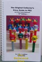 John LaSpina's 2008 Pez Price Guide 19th ed.