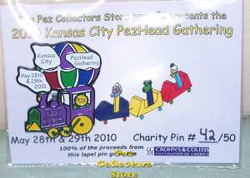2010 Crohn's and Colitis Foundation Charity pin