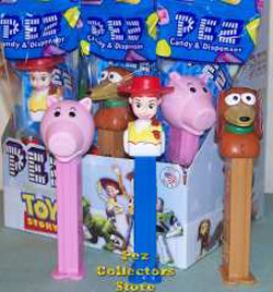Hamm, Jessie and Slinky Dog - 2010 Toy Story Pez