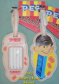 Pez Boy Luggage Tag