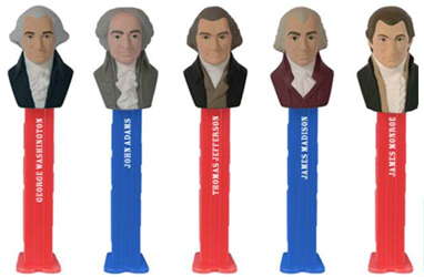 US Presidents Series 1 Pez