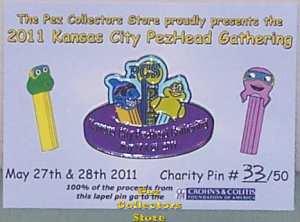 CCFA Charity Pin