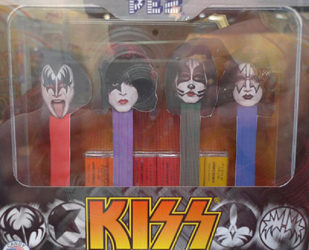 KISS Pez Dispenser set