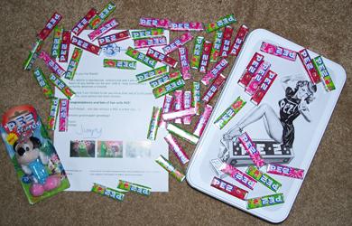 PEZ Candy tin Prize