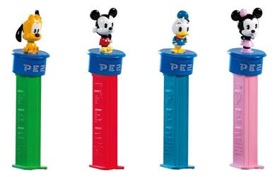 European Disney Cuties Click 'n Play Pez set