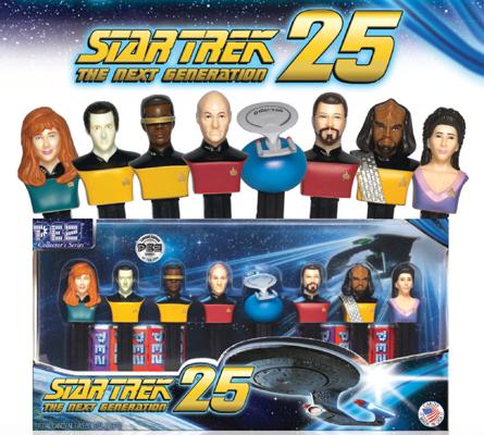 Star Trek The Next Generation Pez Set