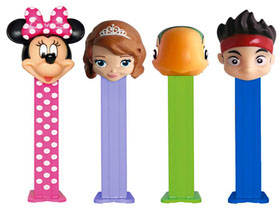 Disney Junior Pez Assortment in Counter Display Box