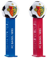 Colored FC Basel Soccer Ball Pez Mint on CarD