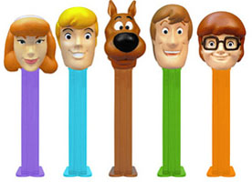 Scooby Doo pez assortment in collectors box