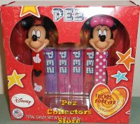 Mickey and Minnie Friends Forever Pez Set