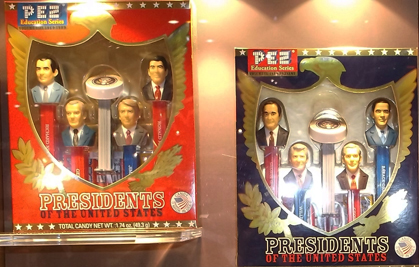 President Pez Volume 8 and 9 boxed sets