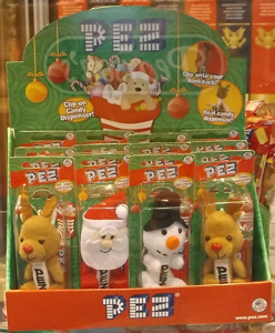 2015 Winter Plush Pez