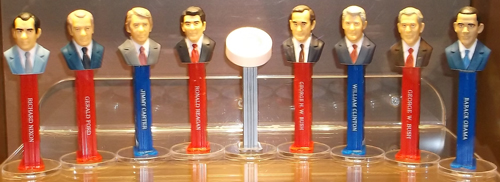 President Pez from Volume 8 and 9 with Presidential Seal Pez