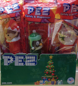 2017 Christmas Pez Mint in Bag
