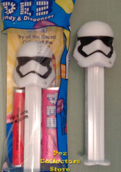 First Order Stormtrooper Pez Mint in Bag