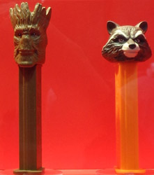 Groot and Rocket Raccoon Pez