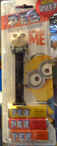 Despicable me Gru Pez Mint on Card