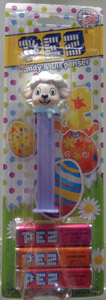 Easter Lamb Pez Mint on Card