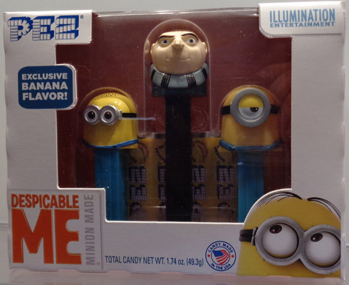 Despicable me with Gru and mini Minions Pez