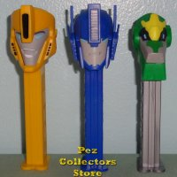European Transformers Robots in Disguise Pez