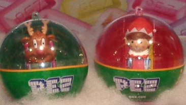 Mini pez in Ornaments