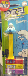 Smurfs Pez Series 3 Mint on Card