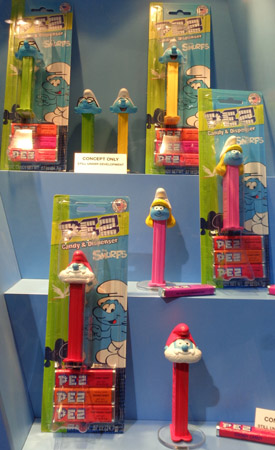 Smurfs Series 3 Pez Assortment