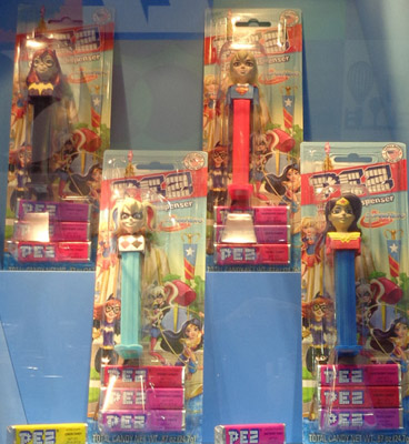 Supergirls Pez