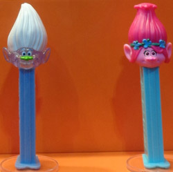 Trolls Guy Diamond and Poppy Pez